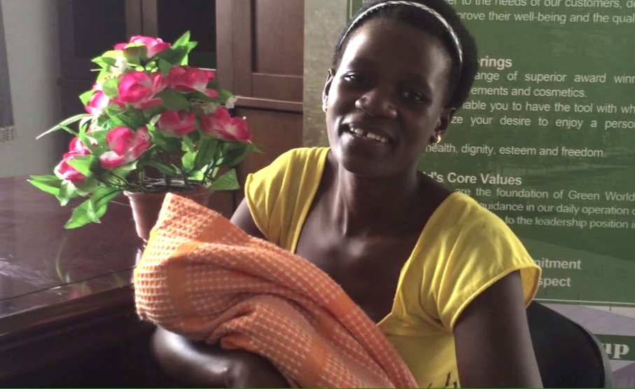 Ushuhuda Wa Christina Kupata Mtoto Kwa Bidhaa Za Green World
