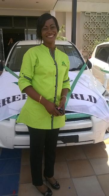 zawdi ya gari Hilda Green World