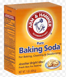 baking soda  au sodium bicarbonate