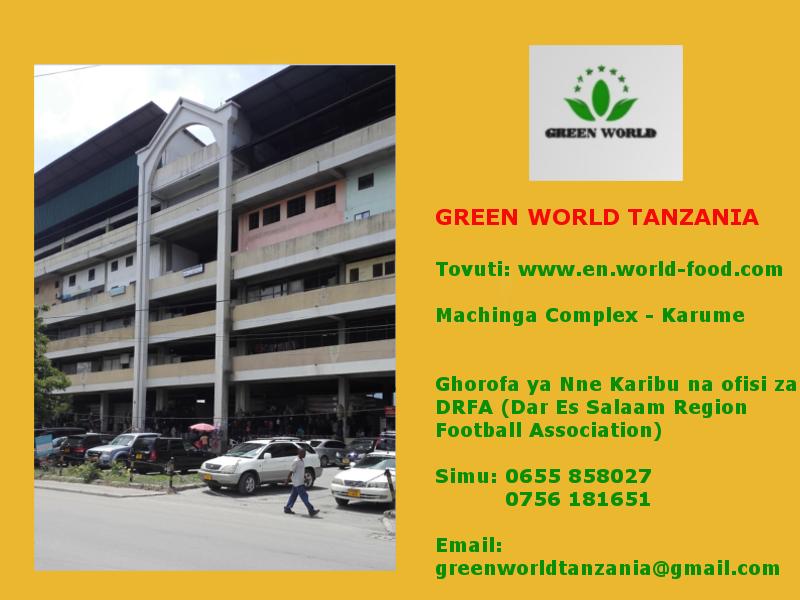 ofisi za green world machinga complex
